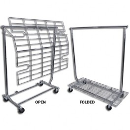Garment Rack Screen, Folding