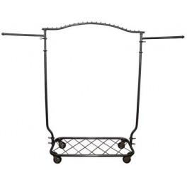 Garment Rack, Decorative with Wheels