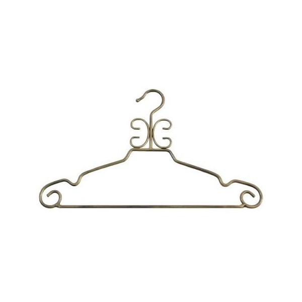 Decorative Metal Suit Hanger Antique Gold Hangerswholesale